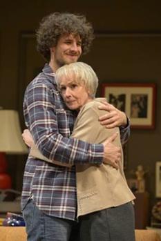 Reggie Gowland as Leo Joseph-Connell and Susan Blommaert as Vera Joseph i
