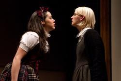 Alex Keiper as Constanze and Mary Tuomanen as Cinderella i