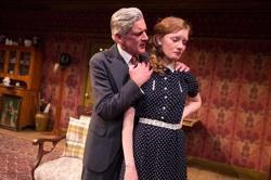 Patrick Fitzgerald and Wrenn Schmidt in 'Katie Roche'