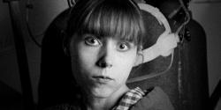 Carissa Berge as Alex the Large in 'A Clockwork Orange'