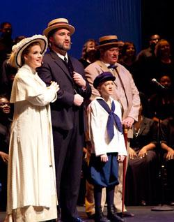 The cast of 'Ragtime' at Uptown Players