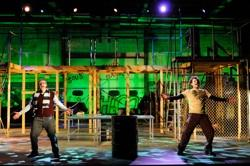 Dan McInerney and Nile Hawver star as Mark Cohen and Roger Davis in Jonathan Larson's Pulitzer Prize and Tony Award-winning rock opera 'Rent'