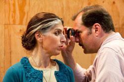 "Linda Mancini and Jay Smith in ""Vision Disturbance"""