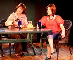 Maureen Adduci and Shelley Brown star in Zeitgeist Stage Company's 'Life of Riley,' continuing through March 2 at the BCA.
