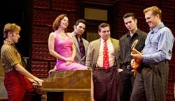 The cast of 'Million Dollar Quartet' at the Bass Performance Hall