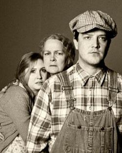 The cast of 'The Grapes of Wrath' at the Watertower Theatre