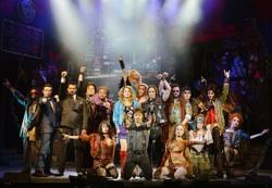 The cast of 'Rock of Ages' at the Venetian Hotel