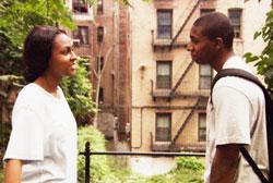 Tashiana Washington and Ty Hickson star in 'Gimme the Loot'