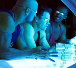 A scene from PAIN AND GAIN