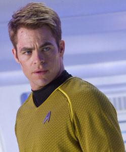 Chris Pine warps in action once more as Captain Kirk
