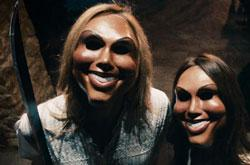'Hi, there!' A scene from 'The Purge'