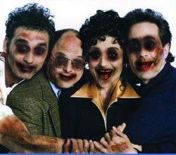 Imagine 'Seinfeld,' with a zombie twist