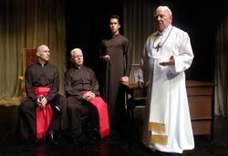The cast of 'Benedictus'