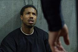 "Michael B. Jordan as Oscar Grant in ""Fruitvale Station"""