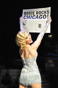 """Angie Schworer in """"Chicago"""""""
