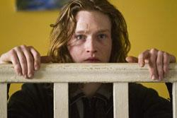 "This film image released by IFC Films shows Caleb Landry Jones in a scene from ""Byzantium."""