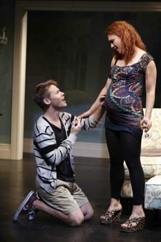 Randy Harrison and Erin Cummings