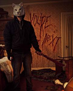 A scene from 'You're Next'