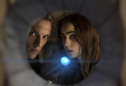 Jamie Campbell and Lily Collins star in 'The Mortal Instruments: City of Bones'