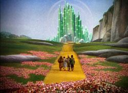 An iconic image from 'The Wizard of Oz'