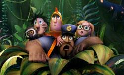A scene from 'Cloudy With A Chance of Meatballs 2'