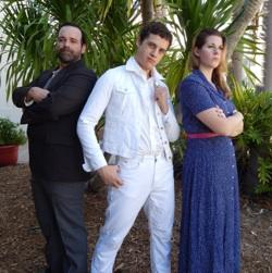 Alexander Zenoz as Tommy, center, with cast members