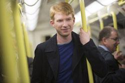 Domhnall Gleeson stars in 'About Time'