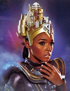 Janelle Monae performs her latest music (The Electric Lady) with theatrical staging inspired by the classic silent sci-fi film Metropolis. Friday, Nov. 1 at the Warfield.
