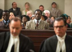 Idris Elba in a scene from Mandela: Long Walk to Freedom'