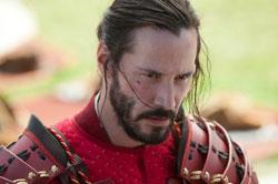 Keanu Reeves in a scene from '47 Ronin'