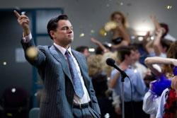 Leonardo DiCaprio stars in 'The Wolf of Wall Street'