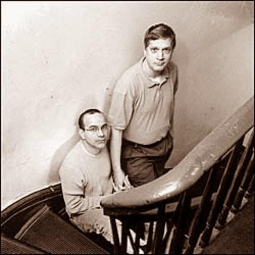 Mario Cavero, left, and Carl Goodman, right.