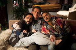 "Frankie J. Alvarez, Jonathan Groff and Murray Bartlett in a promotional photo from ""Looking"""