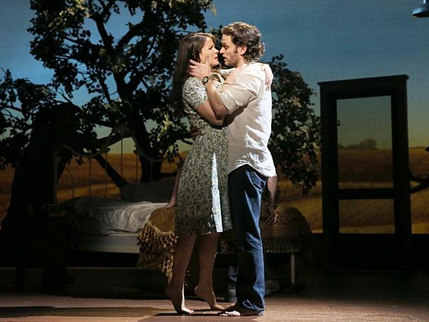 Steven Pasquale and Kelli O'Hara share a secret love