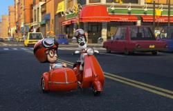 A scene from 'Mr. Peabody & Sherman'