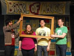 Barrel of Monkeys company members perform 'Untitled (There Was Nothing)'
