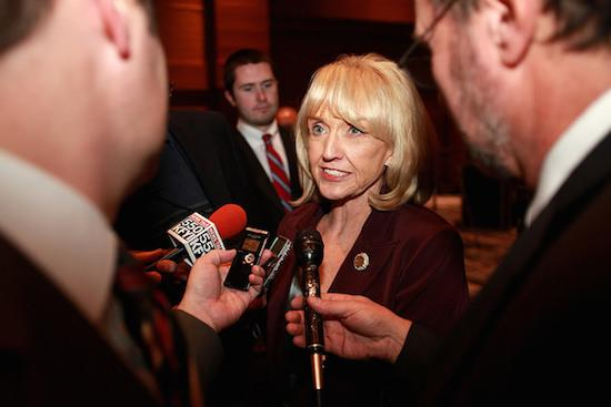 Ariz. Gov. Jan Brewer