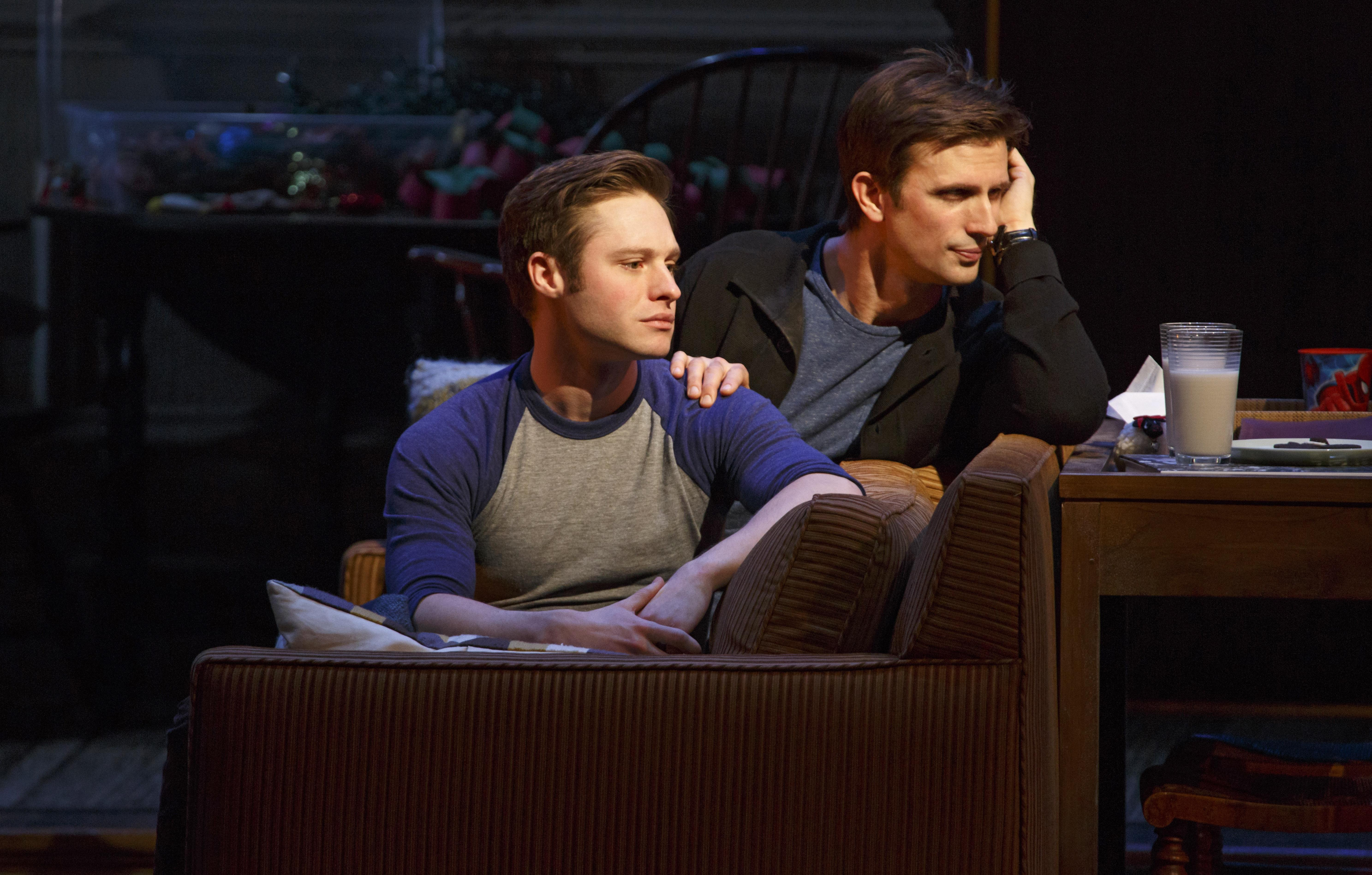 Bobby Steggert and Frederick Weller in a scene from Terrence McNally's 'Mothers and Sons'