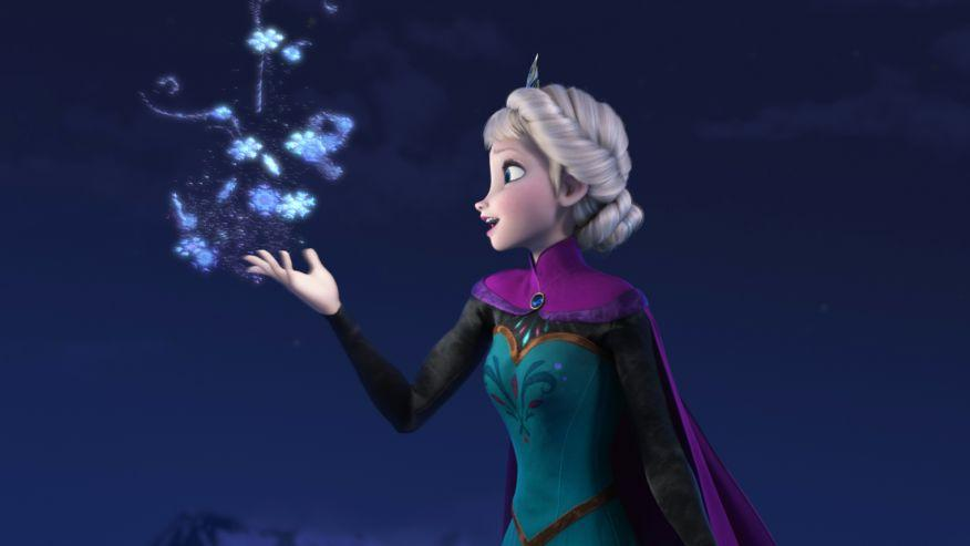 A scene from 'Frozen'