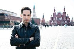 "MIchael Lucas in a publicity photo for ""Campaign of HateCampaign of Hate: Russia and Gay Propaganda"""