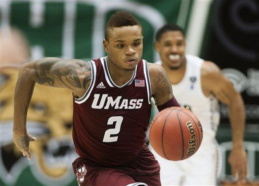 Massachusetts guard Derrick Gordon