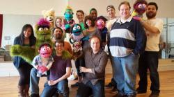 Mercury Theater Chicago and the cast of 'Avenue Q '