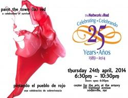 Paint the town red for their 25th anniversary gala