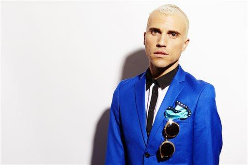 Tyler Glenn, frontman of the band Neon Trees
