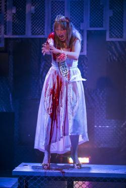 Callie Johnson in Bailiwick Chicago's premiere of 'Carrie: The Musical'