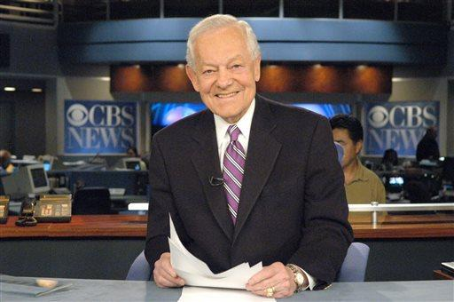 CBS News shows newsman Bob Schieffer