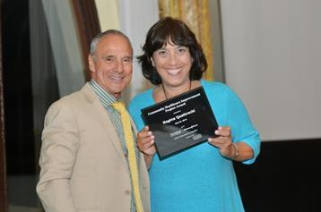 ailey House CEO Gina Quattrochi received the CHIP Award