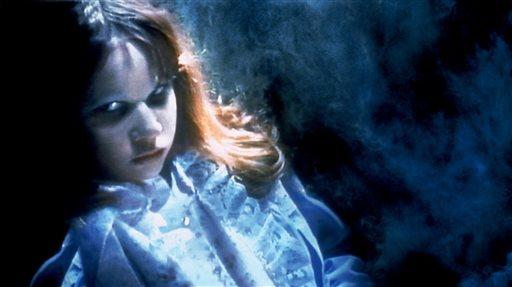 "Linda Blair portrays a possessed Regan MacNeil in a scene from, ""The Exorcist."""