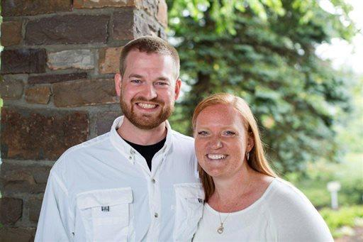 Dr. Kent Brantly and his wife, Amber.