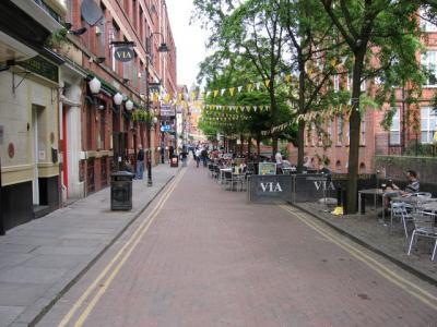 Manchester gayborhood Canal Street